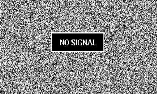 no-signal-message