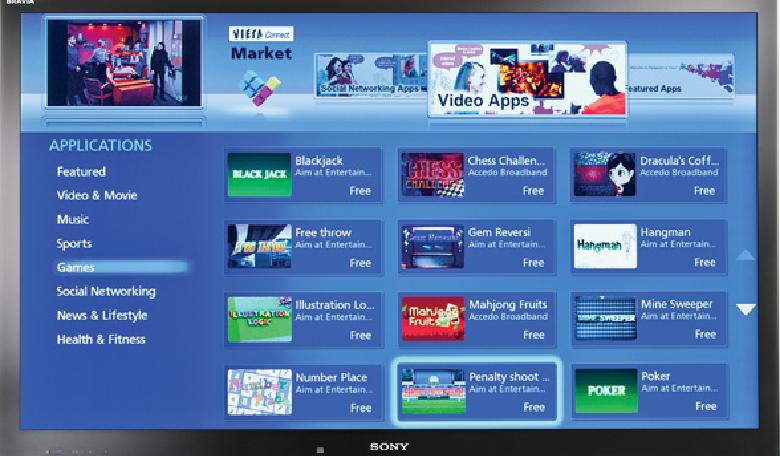 Приложения для sony bravia smart tv скачать