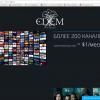 Как скачать бесплатный плейлист m3u от Edem TV