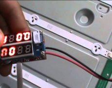 Как отремонтировать LED подсветку телевизора LG своими руками
