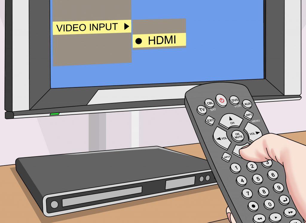 как настроить компьютер для просмотра фильма на телевизоре