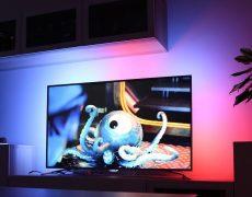 Динамическая подсветка Ambilight для телевизора своими руками