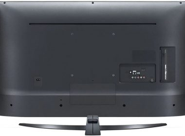 Телевизор LG 43UN74006LA Вид сзади
