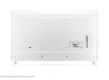 Телевизор LG 49UN73906LE Вид сзади