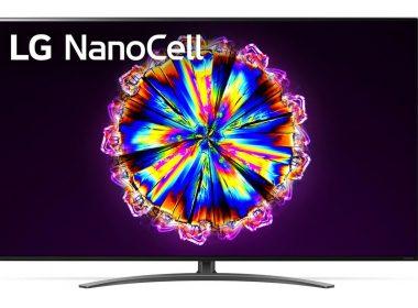 Телевизор LG 55NANO916NA Экран