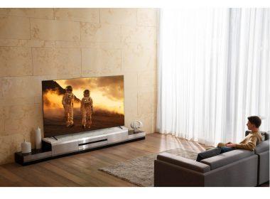 Телевизор LG 55NANO916NA В комнате