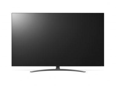 Телевизор LG 55NANO916NA Вид спереди