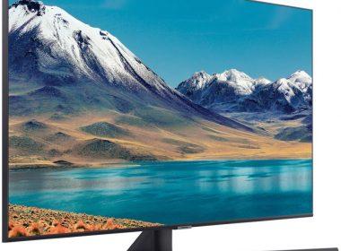 Телевизор Samsung UE55TU8570U Вид под углом 1