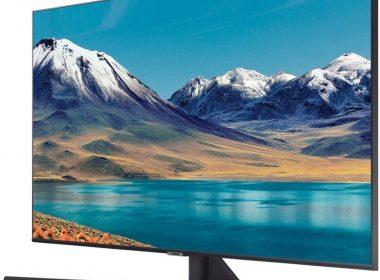 Телевизор Samsung UE55TU8570U Вид под углом 2