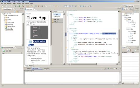 Tizen_SDK_IDE_View_-_Web_App